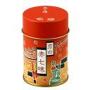 京都【赤七味・缶(七味唐辛子)】国産唐辛子を使用。爽やかな山椒など全8種の薬味を調合し、辛味、風味ともにバランス良い七味唐辛子です。 京都 ご当地 お土産 贈り物 プレゼント スパイス 調味料 食品 七味とうがらしのお店おちゃのこさいさい