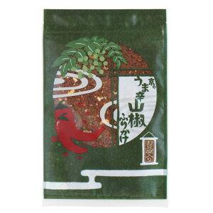【京のうま辛山椒ふりかけ】おだしで炊いたかしわに一味唐辛子と山椒を加え、ピリリッと刺激が癖になるうま辛のふりかけです。京都 お土産 ふりかけ 食品 七味とうがらしのお店おちゃの
