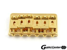 Allparts Gold Non-Tremolo Bridge/6026