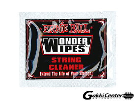 ERNiE BALL(アーニーボール) WONDER WIPES STRING CLEANER (20 PC)[#4249]
