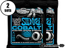 ERNiE BALL COBALT EXTRA SLINKY 08-38 [#2725] 2セット