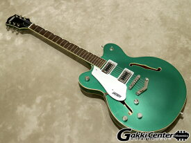 Gretsch G5622LH Electromatic Center Block Double-Cut with V-Stoptail Left-Handed Georgia Green【シリアルNo:CYGC19090295/3.4kg】