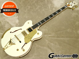 Gretsch G6136B-TP Tom Petersson Signature Falcon™ 4-String Bass Aged White【シリアルNo:JT20020916/4.4kg】【店頭在庫品】