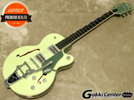 Gretsch G6659T Players Edition Broadkaster Jr. Center Block Single-Cut with String-Thru Bigsby, Two-Tone Smoke Green【シリアルNo:JT20052125/3.5kg】【店頭在庫品】