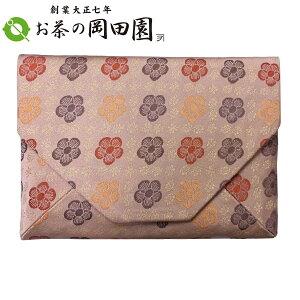 茶道具 数寄屋袋 人絹 お稽古用《梅花紋/ピンク》