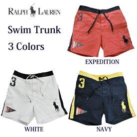 ラルフローレン 水着 海パン RALPH LAUREN ポロ POLO メンズ 紳士用 ビッグポニー スイムウェア ショーツ サーフパンツ 全3色