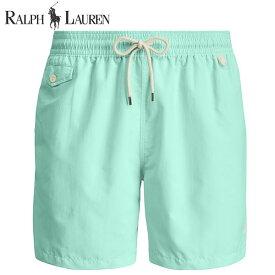 ラルフローレン 水着 海パン POLO RALPH LAUREN ポロ メンズ 紳士用 スイムウェア ショーツ サーフ ハーフパンツ ベイサイド グリーン