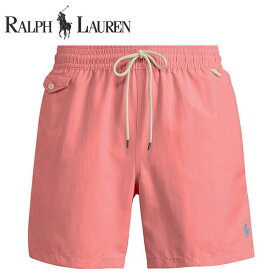 ラルフローレン 水着 海パン POLO RALPH LAUREN ポロ メンズ 紳士用 スイムウェア ショーツ サーフ ハーフパンツ ハイアニス レッド