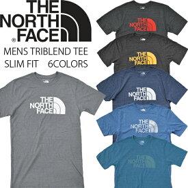 ノースフェイス Tシャツ THE NORTH FACE ハーフドーム ロゴ メンズ トライブレンド 半袖 スリムフィット US企画