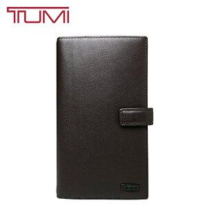 TUMI トラベルウォレット トゥミ 長財布 本革 レザー パスポートケース 旅行 出張 オーガナイザー 男女兼用 ブラウン 17579