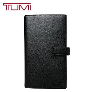 TUMI トラベルウォレット トゥミ 長財布 本革 レザー パスポートケース 旅行 出張 オーガナイザー 男女兼用 ブラック 17579