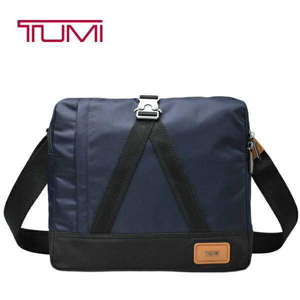 TUMI バッグ トゥミ タブレット収納 ショルダーバッグ 斜め掛け ネイビー【55800 MIDO】【アーリントン トップ ジップ クロスボディ】【送料無料】