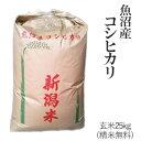 令和元年産魚沼産コシヒカリ玄米25kg / 白米4.5kg×5袋【送料無料】(一部地域を除く)【あす楽対応_本州】【あす楽対応_関東】【あす楽対応_四国】