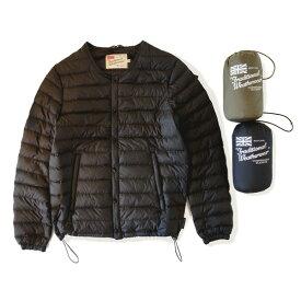 """Traditional Weatherwear(トラディショナルウェザーウェア)ノーカラー ライトダウンジャケット """"ARKLEY DOWN PACKABLE""""(アークリー ダウン パッカブル)【A192APDCO0119OC】"""