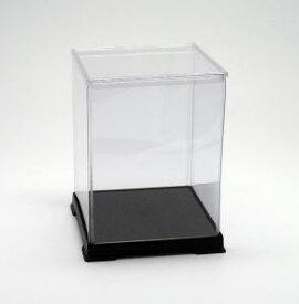 フィギュアケース ディスプレイケース コレクションケース 人形ケース 折りたたみ式ケース 横幅15×奥行15×高さ20(cm) 透明プラ