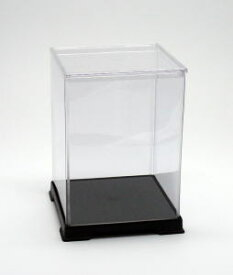 フィギュアケース ディスプレイケース コレクションケース 人形ケース 折りたたみ式ケース 横幅32×奥行32×高さ45(cm) 透明プラ