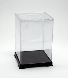 フィギュアケース ディスプレイケース コレクションケース 人形ケース 折りたたみ式ケース 横幅12×奥行12×高さ18(cm) 透明プラ