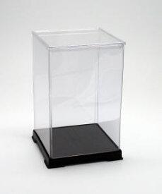 フィギュアケース ディスプレイケース コレクションケース 人形ケース 折りたたみ式ケース 横幅15×奥行15×高さ24(cm) 透明プラ
