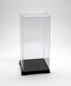 フィギュアケース ディスプレイケース コレクションケース 人形ケース 折りたたみ式ケース 横幅18×奥行18×高さ40(cm) 透明プラ