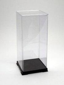 フィギュアケース ディスプレイケース コレクションケース 人形ケース 折りたたみ式ケース 横幅27×奥行27×高さ64(cm) 透明プラ