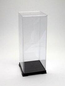 フィギュアケース ディスプレイケース コレクションケース 人形ケース 折りたたみ式ケース 横幅12×奥行12×高さ32(cm) 透明プラ