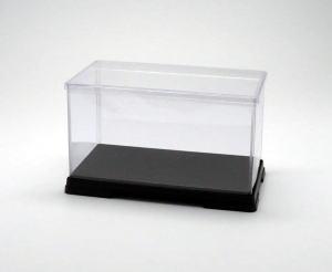 フィギュアケース ディスプレイケース コレクションケース 人形ケース 折りたたみ式ケース 横幅40×奥行21×高さ24(cm) 透明プラ