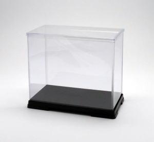 フィギュアケース ディスプレイケース コレクションケース 人形ケース 折りたたみ式ケース 横幅23×奥行12×高さ21(cm) 透明プラ