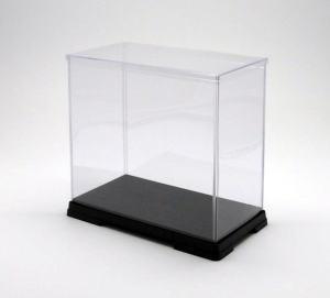 フィギュアケース ディスプレイケース コレクションケース 人形ケース 折りたたみ式ケース 横幅50×奥行32×高さ50(cm) 透明プラ