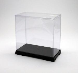 フィギュアケース ディスプレイケース コレクションケース 人形ケース 折りたたみ式ケース 横幅23×奥行12×高さ24(cm) 透明プラ