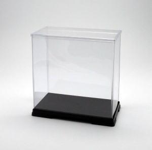 フィギュアケース ディスプレイケース コレクションケース 人形ケース 折りたたみ式ケース 横幅40×奥行21×高さ43(cm) 透明プラ