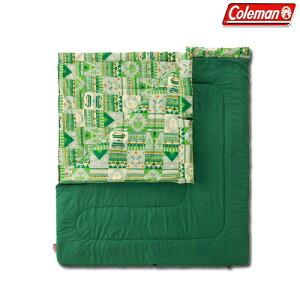コールマン(Coleman) 封筒型シュラフ(寝袋)サマー用 ファミリー2 in1/C10 2000027256 シュラフ(寝袋) 封筒型シュラフ(寝袋) キャンプ アウトドア