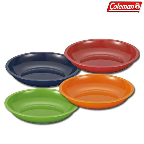 Coleman(コールマン) ノルディックカラーボウル 4PC お皿 ボウル 食器