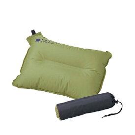 イスカ(ISUKA) ピロー(枕) ノンスリップ ピロー(オリーブ) 207611 マット ベッド 寝具 キャンプ アウトドア