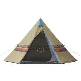 ロゴス(LOGOS) キャンプ用テント LOGOS ナバホTepee 400 71806500 テント タープ キャンプ アウトドア