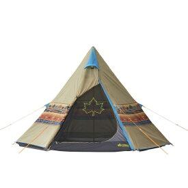 ロゴス(LOGOS) キャンプ用テント LOGOS ナバホTepee 300 71806501 テント タープ キャンプ アウトドア