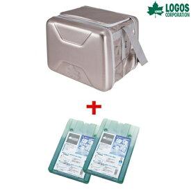 LOGOS(ロゴス) 折り畳み式クーラーボックスおでかけセットL(強力保冷剤2個付き) クーラーボックス ソフトクーラー 保冷剤 キャンプ ピクニック アウトドア