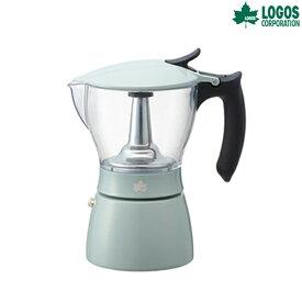ロゴス(LOGOS) コーヒー用品 見える!エスプレッソメーカー 81210307 調理用品 食器類 キャンプ アウトドア