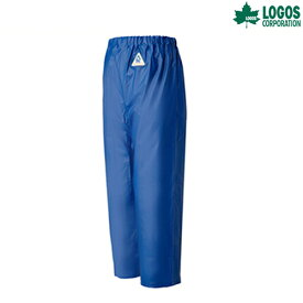 LOGOS(ロゴス) レインアタッカー ズボン 産業用作業着 水用 水産加工業 船舶作業 港湾作業 沿岸作業 養殖業 アウトドア