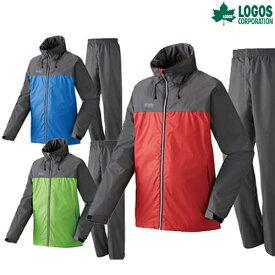 LOGOS(ロゴス) 蒸れを追放・OVSレインスーツ・ピート LIPNER レインウェア レインウエア カッパ キャンプ アウトドア