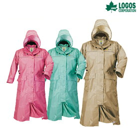 LOGOS(ロゴス) レインコート ルーシー DAISY LIPNER レインウェア レインウエア カッパ キャンプ アウトドア