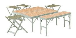 LOGOS(ロゴス)/LOGOS/Life/ベンチテーブルセット6/ファニチャー/テーブルセット/キャンプ/アウトドア/73183014