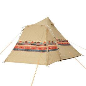 ロゴス(LOGOS) キャンプ用テント(3〜5人用) ナバホEX Tepeeリビング400-AI 71806520 テント タープ キャンプ用テント キャンプ アウトドア