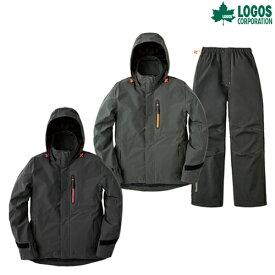 ロゴス(LOGOS) レインウェア マルチストレッチレインスーツ ノーム 雨具 キャンプ アウトドア