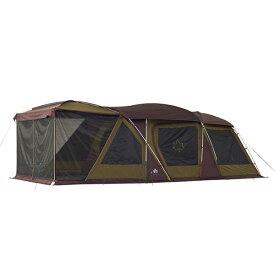 ロゴス(LOGOS) キャンプ用テント(3〜5人用) プレミアム・3ルームドゥーブル・WXL-BJ 71805536 テント タープ キャンプ用テント キャンプ アウトドア