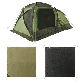 ロゴス(LOGOS) キャンプ用テント(3〜5人用) neos PANELスクリーンドゥーブル XL-BJチャレンジセット 71809560 テント タープ キャンプ用テント キャンプ アウトドア