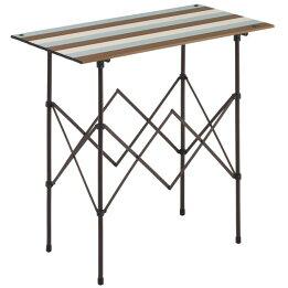 ロゴス(LOGOS)/フォールディングテーブル/LOGOS/Life/キッチンパーティーカウンター/9047(ヴィンテージ)/73188010/ファニチャー(テーブル/イス)/テーブル/机/キャンプ/アウトドア
