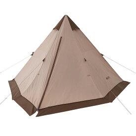 ロゴス(LOGOS) キャンプ用テント(3〜5人用) Tradcanvas VポールTepee400-BA 71805573 テント タープ キャンプ用テント キャンプ アウトドア
