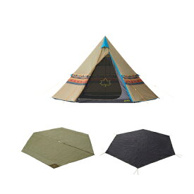 キャンプ用テント(3〜5人用) Tepee ナバホ400セット-BA 71809522 テント タープ キャンプ用テント キャンプ用テント(3〜5人用)テント タープ用品 グランドシート テントマット キャンプ アウトドア