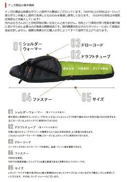ナンガ/(NANGA)/アウトレット訳あり/ダウンシュラフ/750/寝袋/シュラフ/ダウン/コンパクト/マミー型/登山/キャンプ/アウトドア