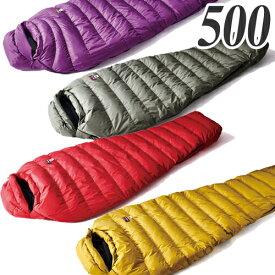 ナンガ(NANGA) マミー型シュラフ(寝袋)スリーシーズン用 オーロラ 500 シュラフ(寝袋) マミー型シュラフ(寝袋) キャンプ アウトドア